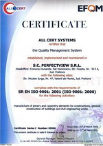 Certificare ISO 9001:2000