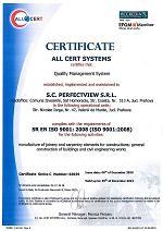 Certificare ISO 9001:2008