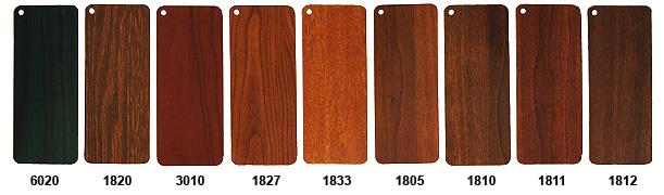 Persiane - Colori effetto legno