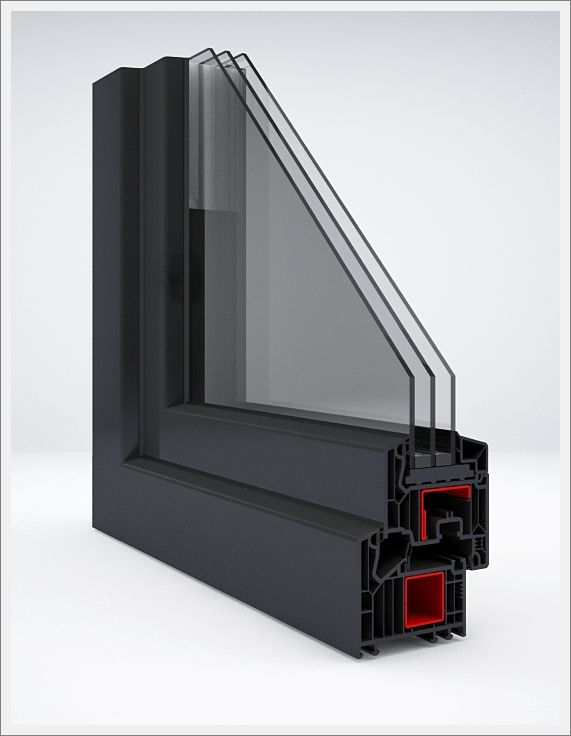veka softline 82 7 chambres fen tres pvc vitrage isolant. Black Bedroom Furniture Sets. Home Design Ideas